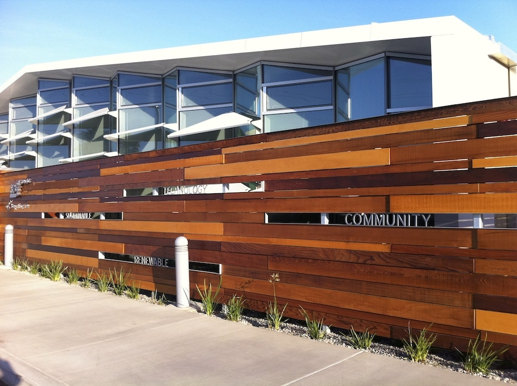 Sustainable wood fencing focus displays for Why is wood sustainable