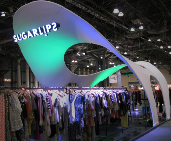 Sugarlips Custom Tension Fabric Structure