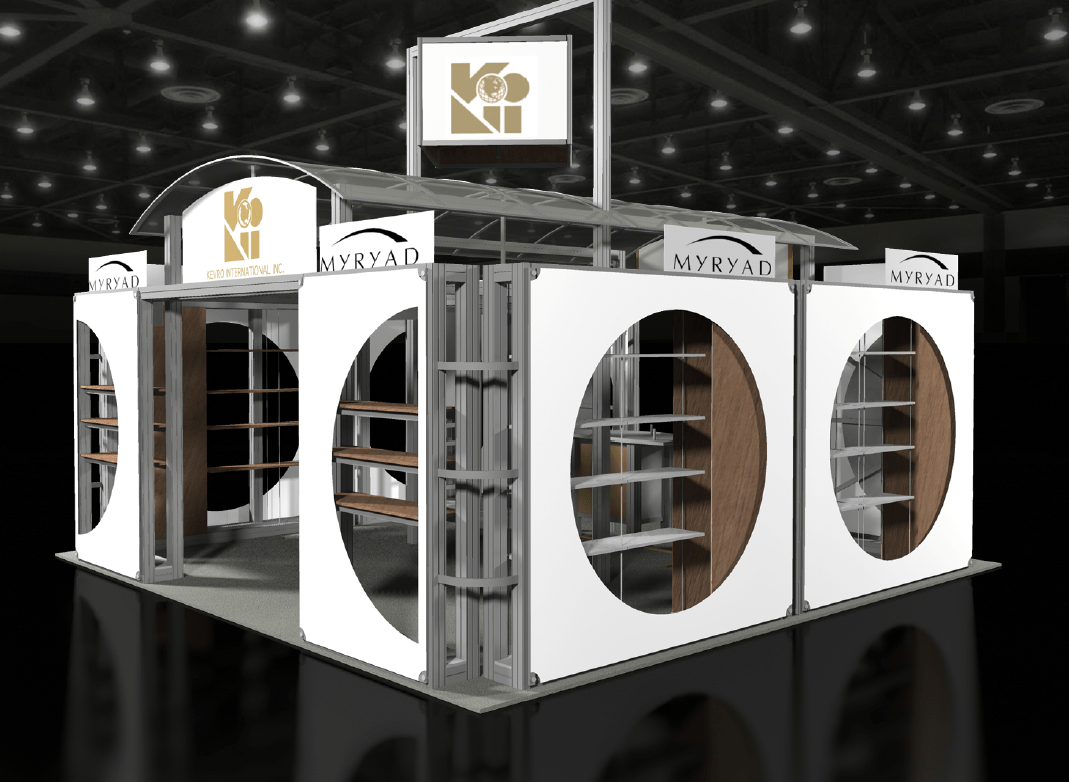 Exhibition Booth Types : Trade show booth types