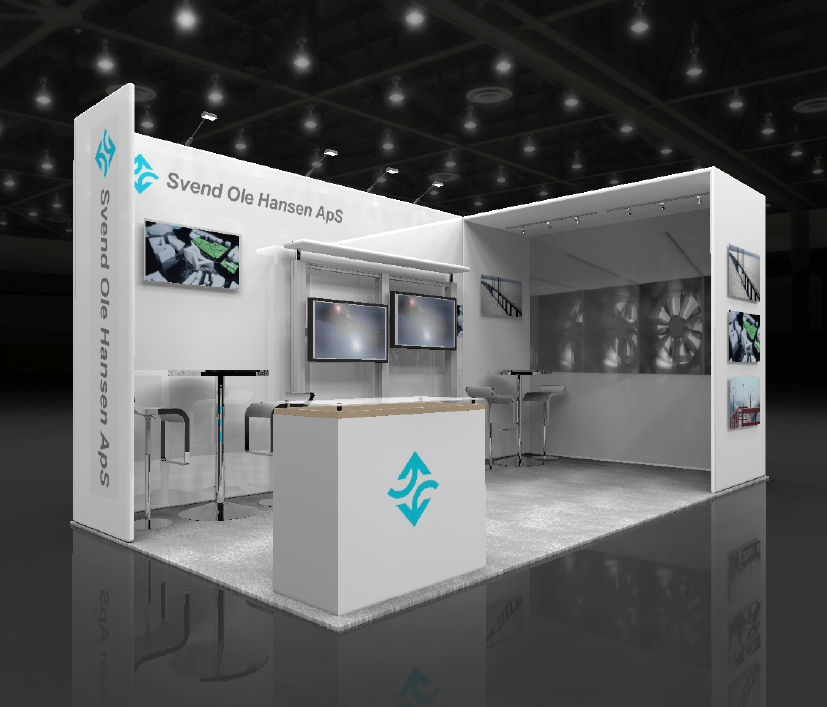 Basic Exhibition Booth : Trade show booth types