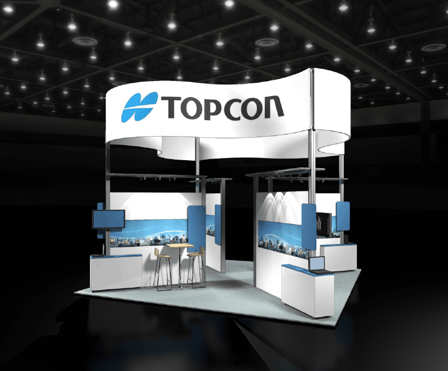 Exhibition Booth Wall : Trade show booth types