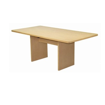 CF605 Rectangular Conference Table Maple Rental